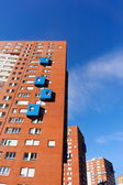Many apartments flats — Foto de Stock