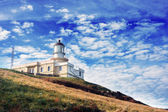 Matxitxako lighthouse — Stock Photo