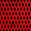 Metallic texture pattern of grille — Stock Photo
