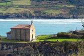 Santa Catalina hermitage in Mudaka. Basque Country — Stock Photo