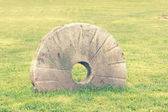 Millstone — Stock Photo