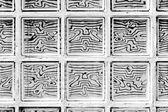 Pattern of glass block — Stock Photo