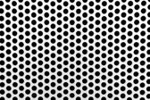 Metal net with perforated circles — Stock Photo