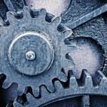 Rusty and metallic gear wheel — Stock Photo #47367249