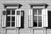 Windows-open — Stockfoto