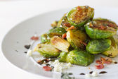 Carmelized Brussel Sprouts — Stock Photo