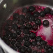 Stock Photo: Blueberry Compote