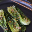 Steamed Baby Bok Choy — Stock Photo