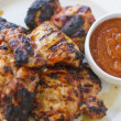 Chipotle Apricot BBQ Chicken — Stock Photo