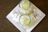 Ginger Lime Punch — Stock Photo