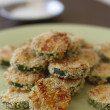 Stock Photo: Crispy Zucchini Rounds