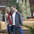 Christmas Couple — Stockfoto