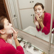 Young Woman's Morning Routine — Stock Photo