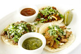 Street Style Tacos — Stock Photo