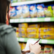 Shopping list — Stock Photo #21818407