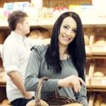 Fresh baked bread — Stock Photo #21818515