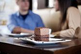 Chocolate snack — Stock Photo