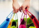 Shopping together — Stock Photo