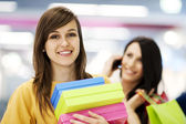 Female shoppers — Stock Photo
