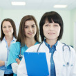 Doctors in a line — Stock Photo #21831649