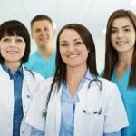 Successful medical team — Stock Photo