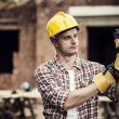 Construction Worker — Stock Photo #21832811