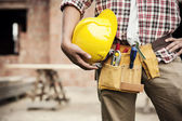 Stavební dělník — Stock fotografie