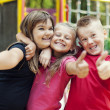 Children showing ok sign — Stock Photo #21902689
