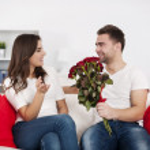 Couple on Valentine's Day — Stock Photo #21911267