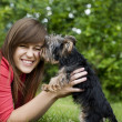 Puppy love — Stock Photo #21914003