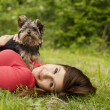 Puppy love — Stock Photo #21914213