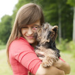 Puppy love — Stockfoto