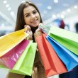 Attractive woman shopping - Foto de Stock  