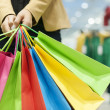 Attractive woman shopping — Stock Photo #21915909