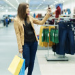 Attractive woman shopping — Stock Photo #21915917