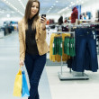 Attractive woman shopping — Stock Photo #21915967