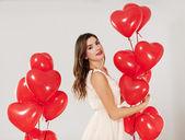 Valentine's girl — Foto de Stock