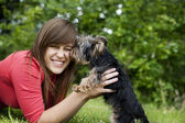 Puppy love — Stock Photo