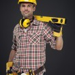 Construction worker — Stock Photo #21956241