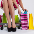 Woman with shopping bags — Stock Photo #21963947
