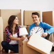 Foto Stock: Moving day