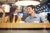 Romantic dating — Stock Photo