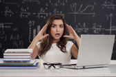 I don't know what to do! — Stock Photo