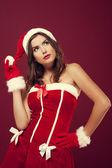 Beautiful santa claus — Stock Photo