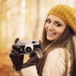 Smiling young woman — Stock Photo #34456115
