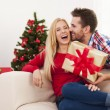 Present for christmas  — Stock Photo