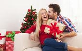 Present for christmas — Stock Photo