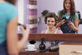 Hairdresser salon — Stock Photo