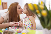 Liefhebbende moeder en baby — Foto de Stock