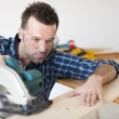 Carpenter at work — Stock Photo #43804089